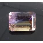 Ametrine Faceted Gemstone