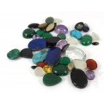 Bag of Cabochons and Gemstones  - for Jewellery making
