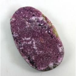 Cobaltoan Calcite Pink Oval Cabochon