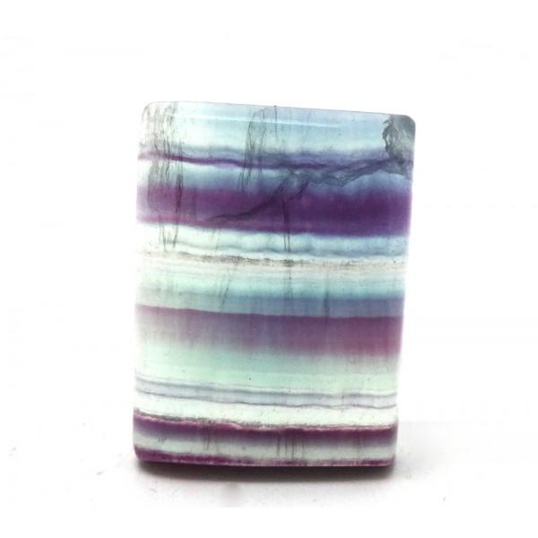 Striped Fluorite Cushion Cabochon