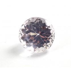 Faceted Pink Kunzite Round Gemstone