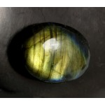 Golden Labradorite Oval Cabochon