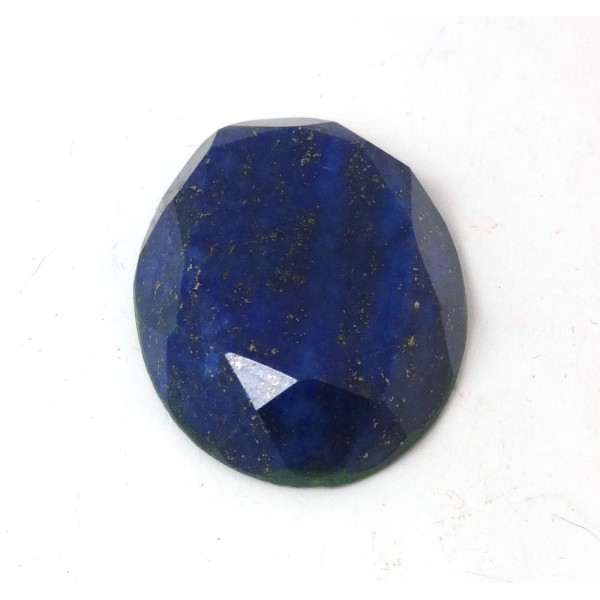 Faceted Lapis Lazuli Oval 28mm