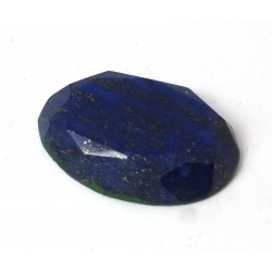 Lapis Lazuli Faceted Oval 31mm