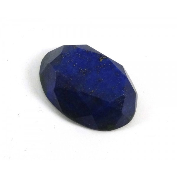 Lapis Faceted Oval