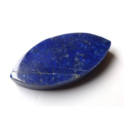 Lapis Polished Thick Oval Slice
