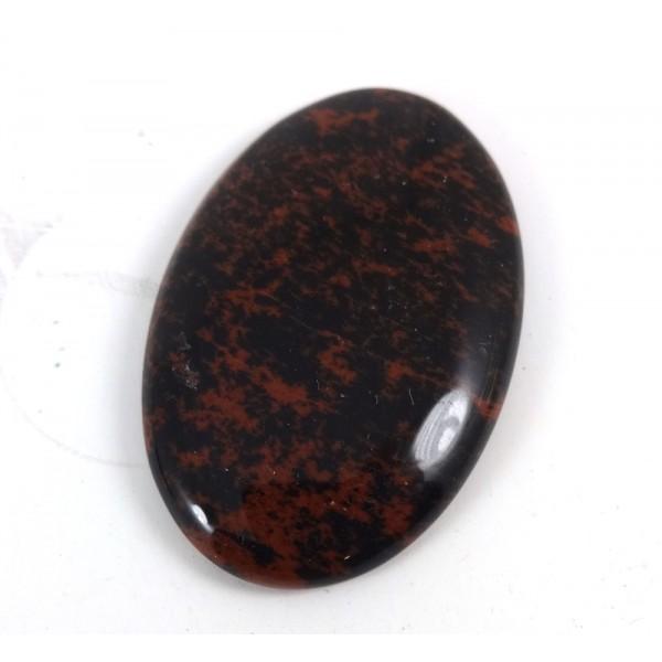 Mahogany Obsidian Cabochon 44mm x 28mm
