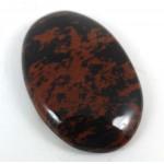 Mahogany  Obsidian Cabochon 43mm x 28mm