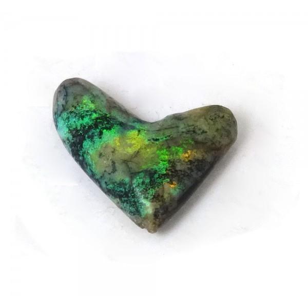 Australian Opal Heart Cabochon