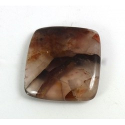 Quartz With Iron Square Cabochon