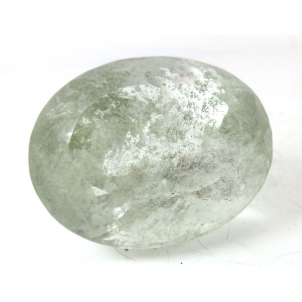 Large Stunning Oval Cut Faceted Incuded   - for Jewellery making