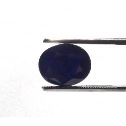 Blue Sapphire Oval Gemstone