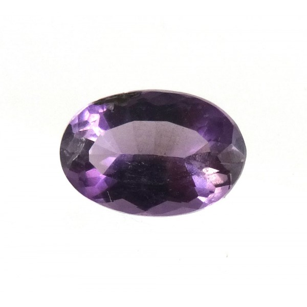 Faceted Purple Scapolite Oval