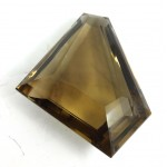Large Stunning Cut Faceted Smokey Quartz - for Jewellery making