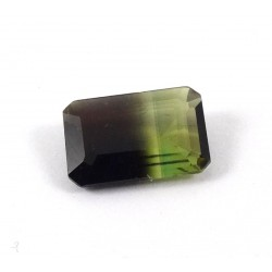 Bi Colour Tourmaline Gemstone