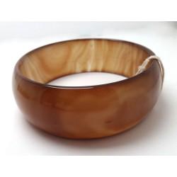 Thick Agate Bracelet