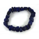 Lapis Lazuli Polished Bracelet