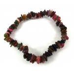Multi Colour Tourmaline Polished Stone Bracelet