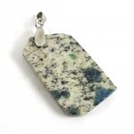 K2 Polished Slice Pendant