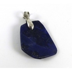 Lapis Lazuli Facet Pendant