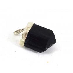 Black Tourmaline Crystal Pendant