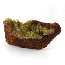 Adamite Crystal Matrix