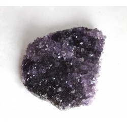 Amethyst Crystal Cluster Bed