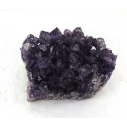 Amethyst Crystal Cluster Bed