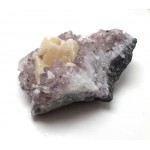 Brazilian Amethyst with Calcite Cluster