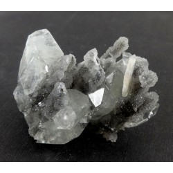 Apophyllite and Chalcedony Cluster