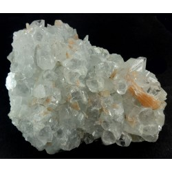 Apophyllite and  Stilbite Crystal Cluster