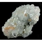 Apophyllite and  Stilbite Crystal Cluster