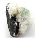 Green Apophyllite on Matrix
