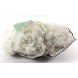 Green Apophyllite on Matrix