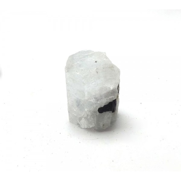 Aquamarine Crystal with Tourmaline Crystals Protruding