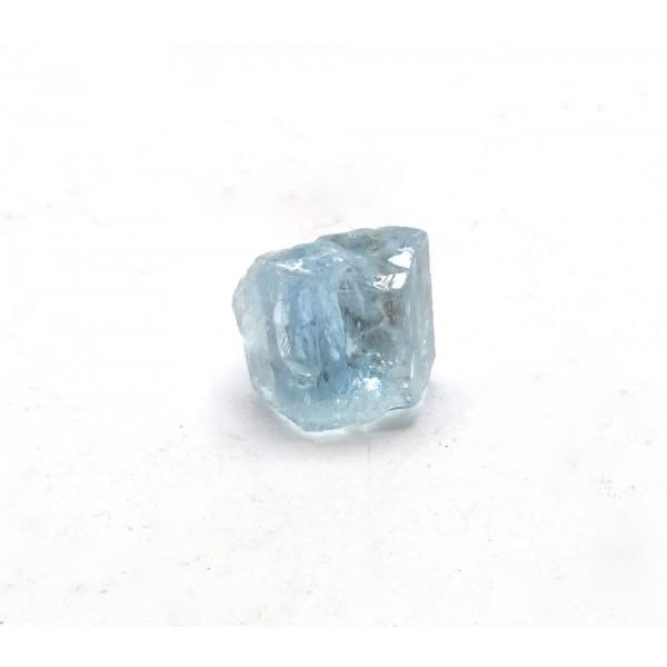 Small Aquamarine Hexagonal Crystal Section