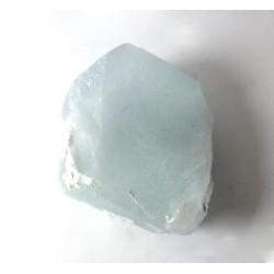 Aquamarine Hexagonal Crystal Section