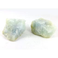 2 Aquamarine Crystal Chunks