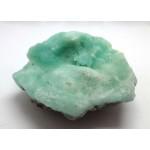 Green Aragonite Natural Crystal Formation