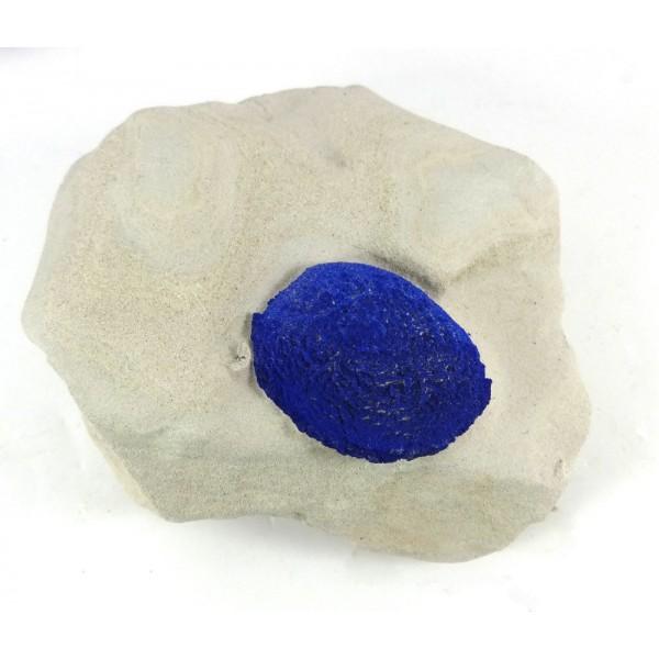 Azurite Crystal in Matrix
