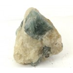 Blue Beryl on Feldspar