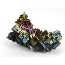 Bismuth Metal Crystal Formation