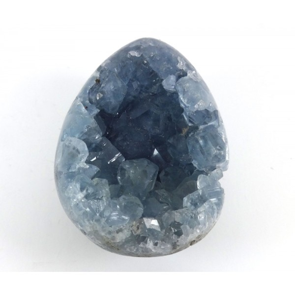 Celestite Part Egg Shape