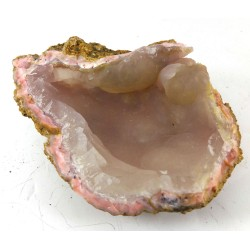 Dusty Pink Botryoidal Chalcedony Cave