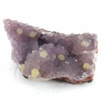 Purple Morrocan Chalcedony with Lemon Colour Tips