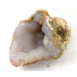 Blue Grey Chalcedony Geode Formation