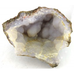 Blue Grey Chalcedony Cave Formation