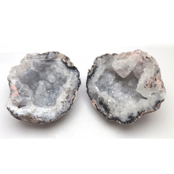 Mexican Chalcedony and Calcite Geode
