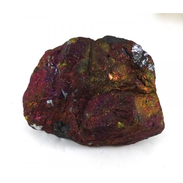 Chunky Peacock Ore from Treated Chalcopyrite