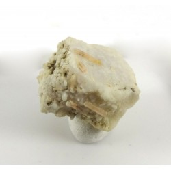 Childrenite Crystals Feldspar Matrix